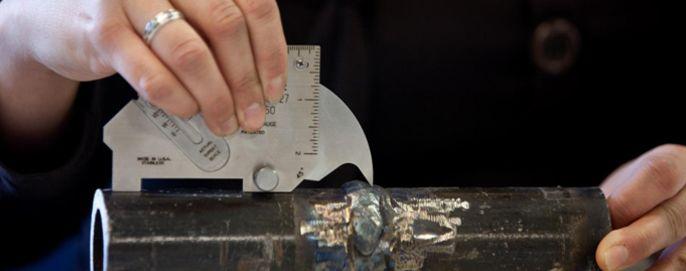 Curso sobre inspección visual de soldaduras